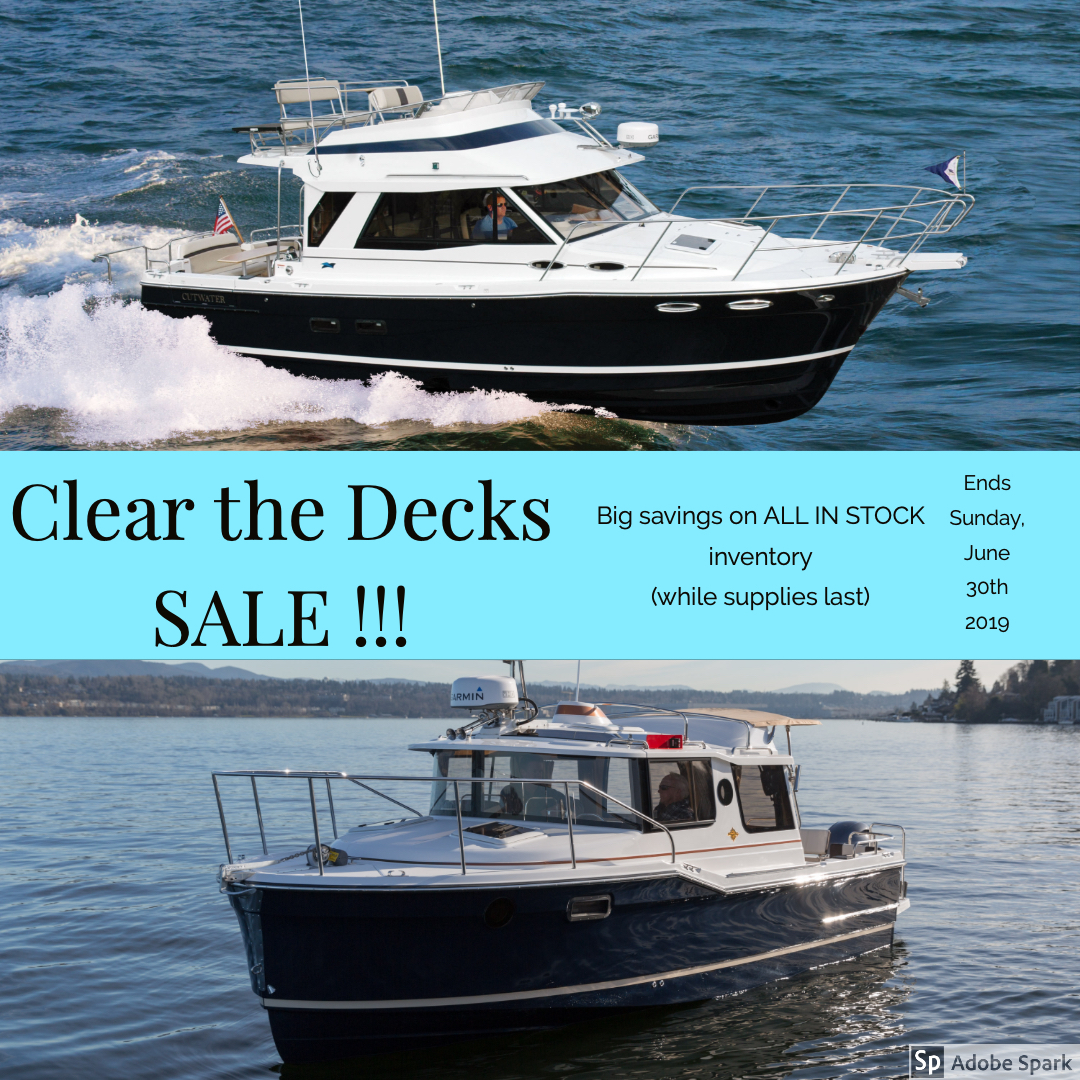 Big Sale Clear The Decks Extended The Pocket Yacht Company